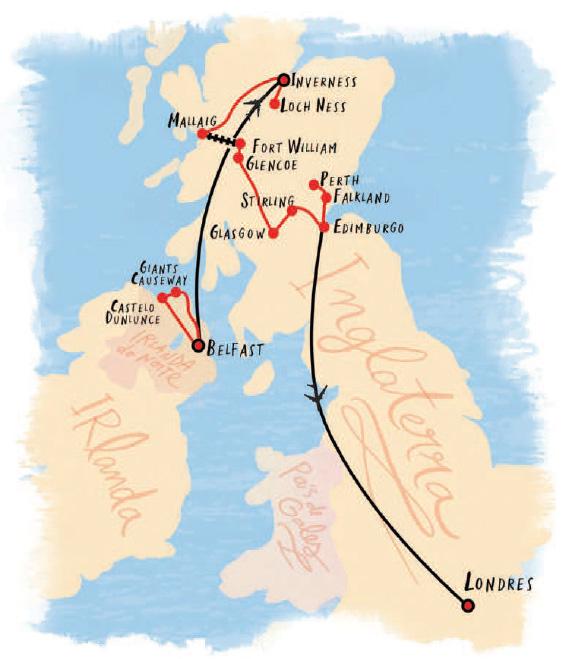 Irlanda Do Norte Esc 243 Cia E Londres Labadee Tour Viva